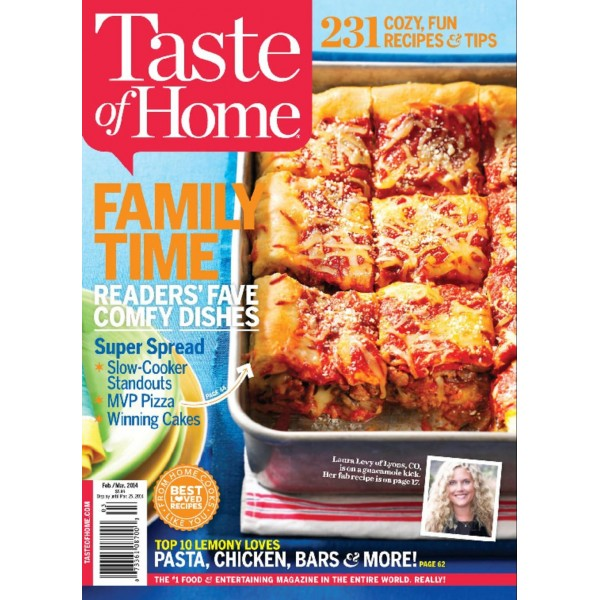 Taste of Home recipes are easy to follow, making your time in the kitchen a breeze. Recipes come with beautiful photos so you know what the finished product looks like as well as step-by-step directions, which are easy to follow. Fits a Variety of Palates. Each issue of Taste of Home magazine offers recipes to fit a variety of lifestyles and tastes. With dishes for special occasions, potlucks, holidays, budget .