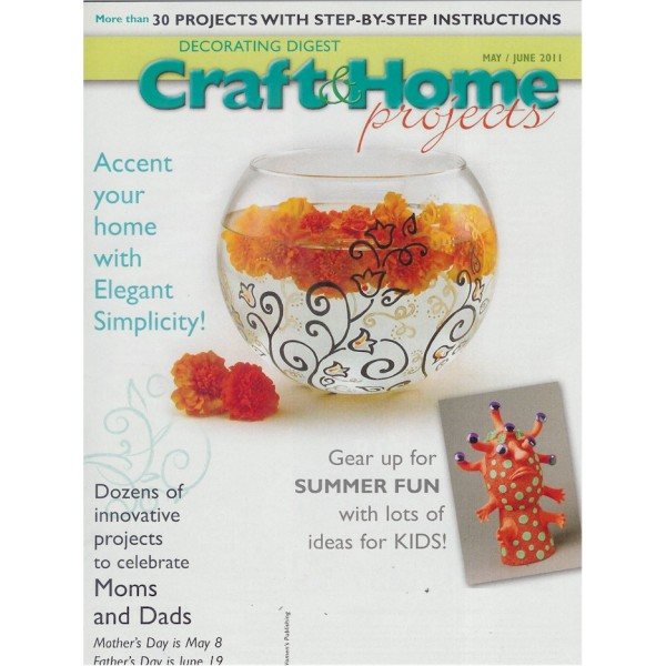 Bon Decorating Digest   Craft U0026 Home Projects